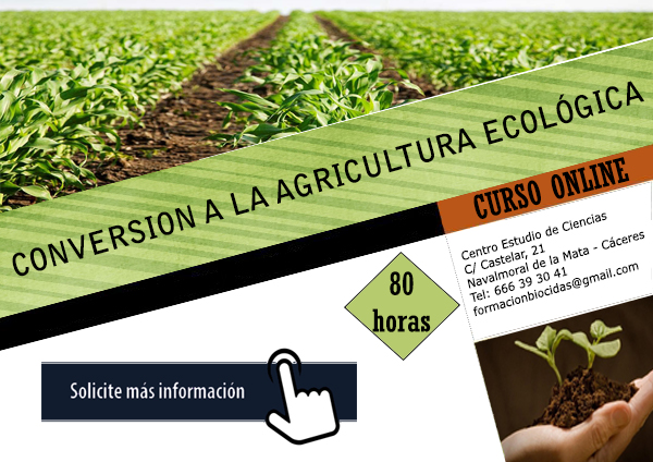 cartel conversion agricultura ecologica